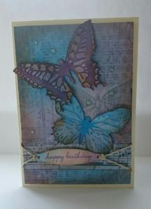 Buterfly card