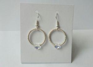 Star wire earings