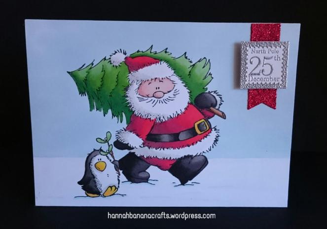 Promarker santa and penguin