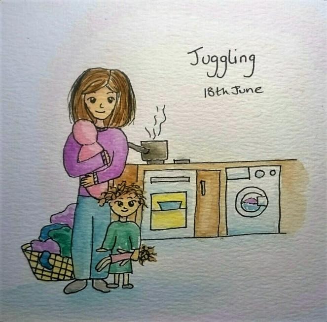 Doodle Juggling