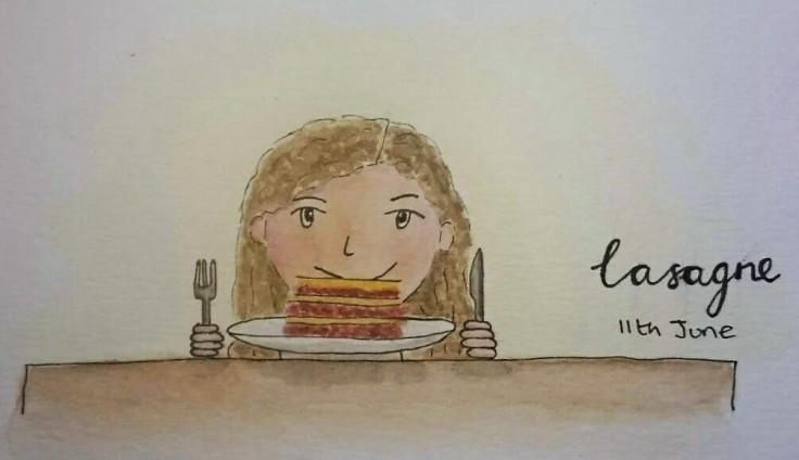 Doodle Lasagne
