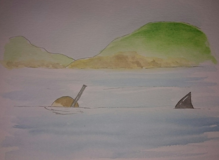 Snorkelling doodle