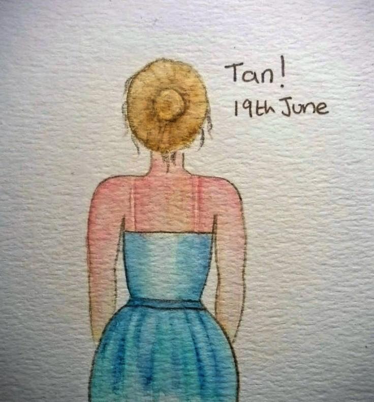 Doodle Tan