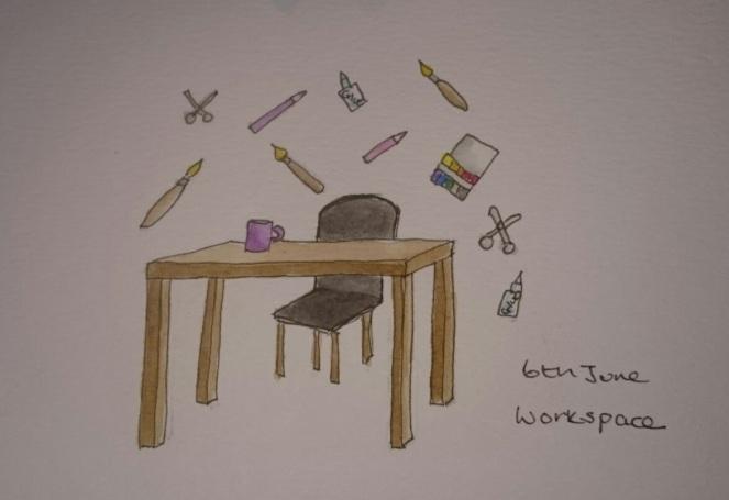 Workspace doodle