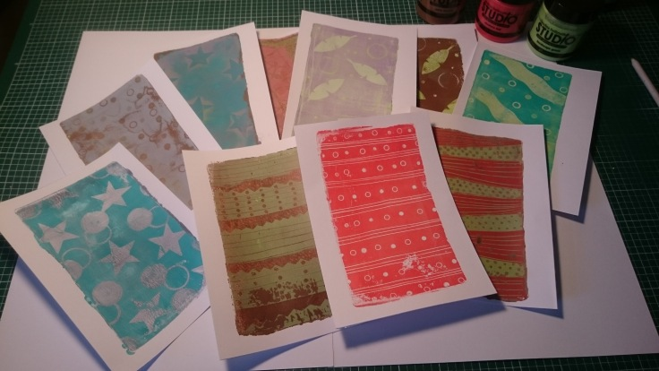 Gelli prints