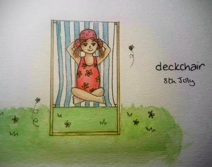 Deckchair doodle