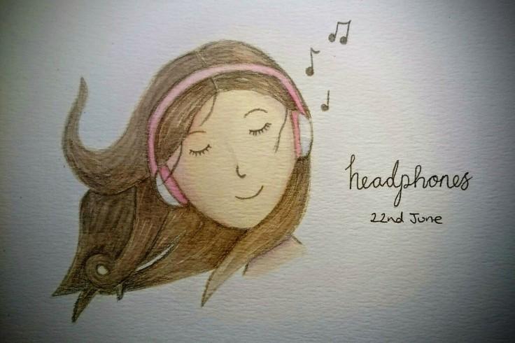 Headphone doodle