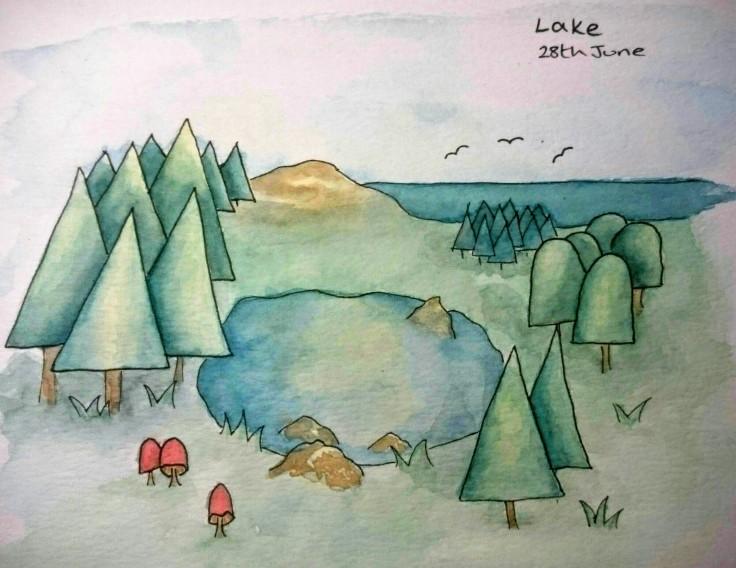 Lake doodle
