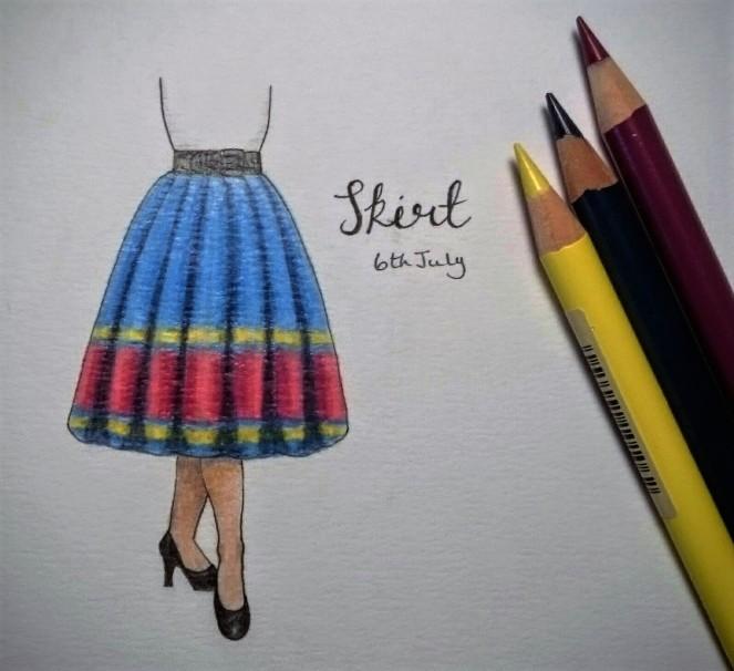 Skirt doodle