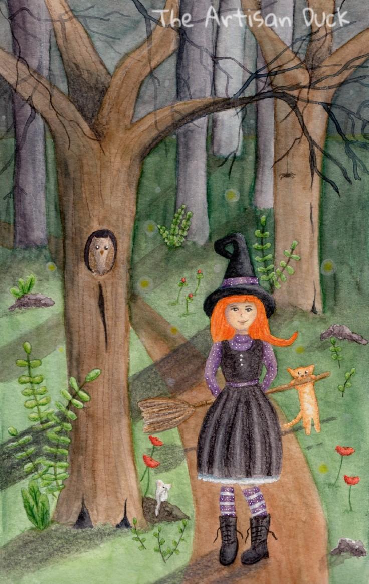 Witch Illustration