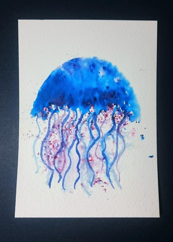 Brusho Jellyfish