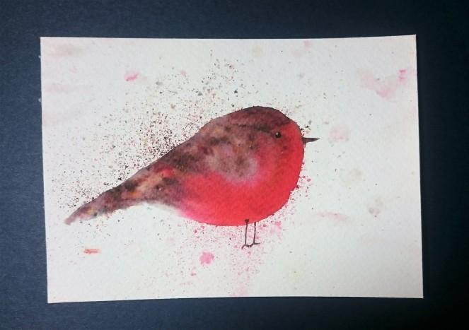 Brusho Robin