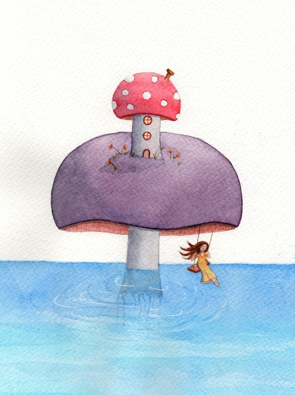 The 52 week illustration challenge week 1 whimsy
