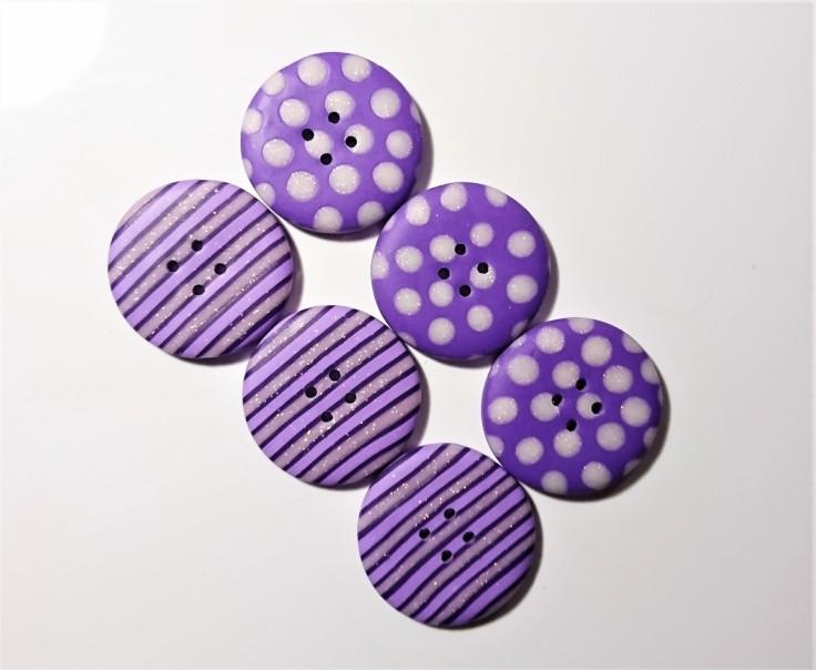 Handmade buttons