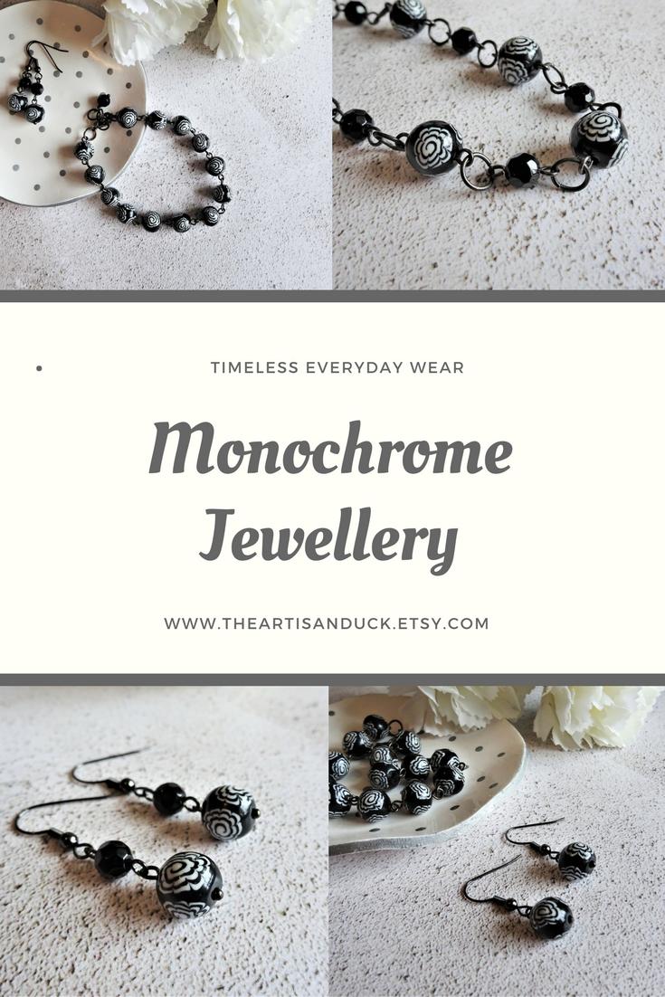 Monochrome jewellery