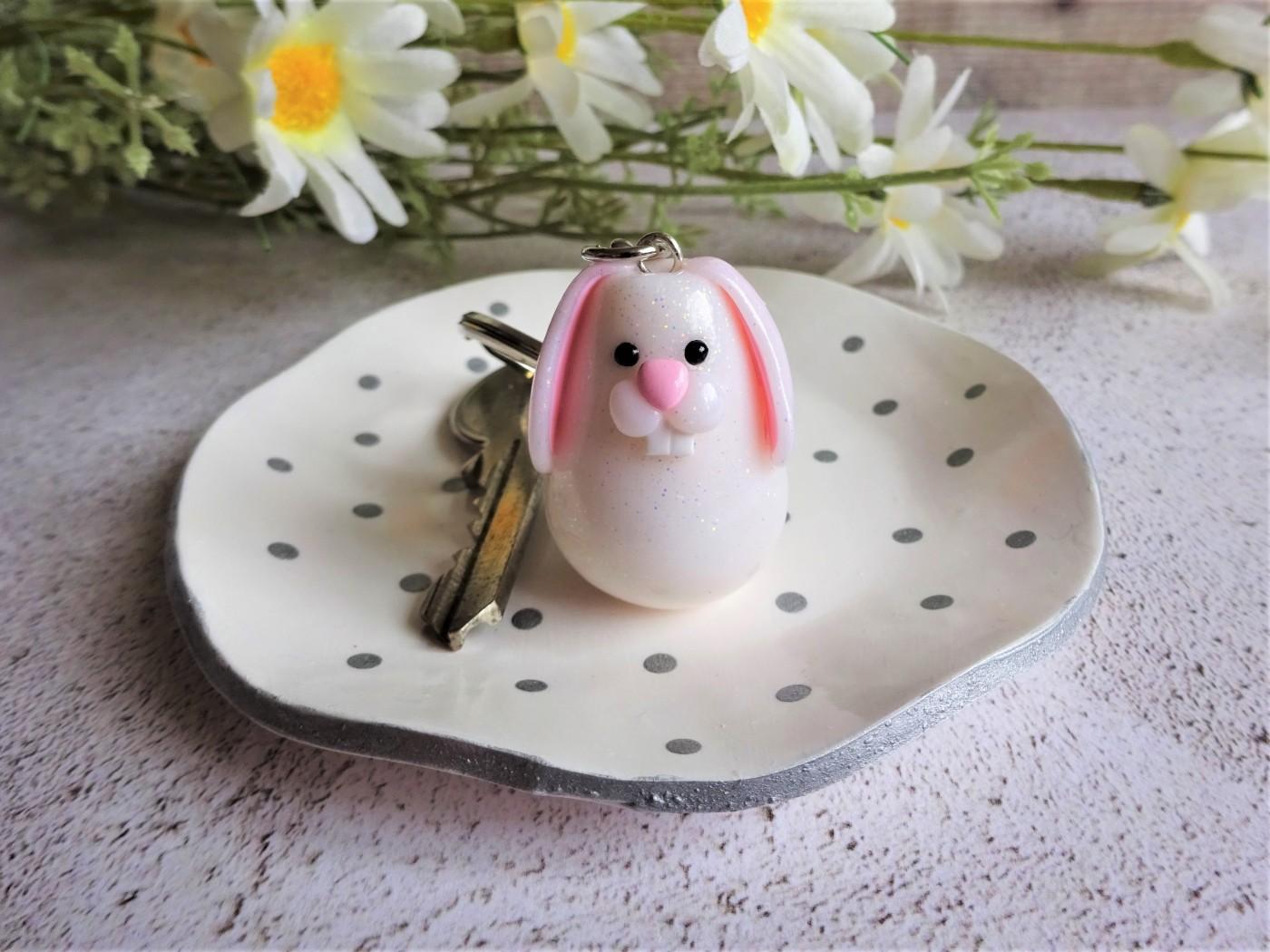 Polymer clay rabbit