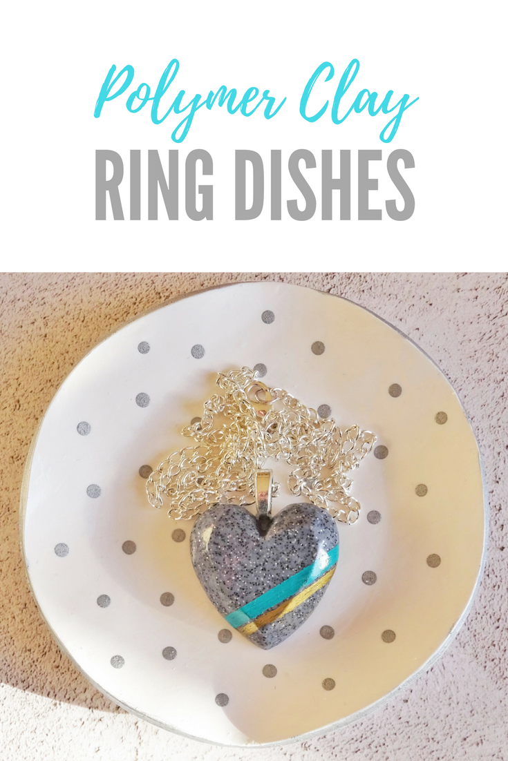 Polymer clay ring dishes