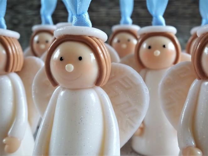 Polymer clay angel