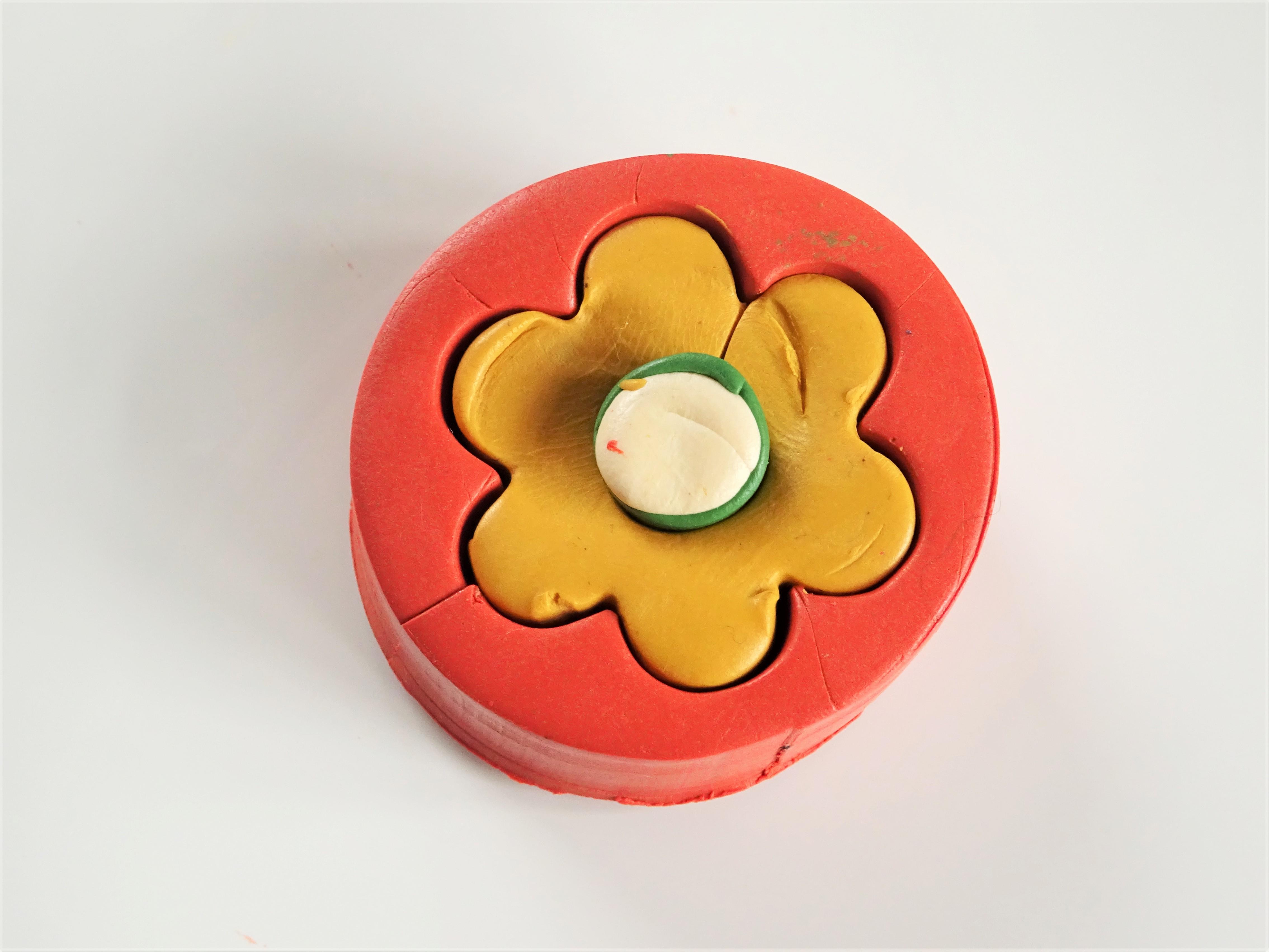 Easy beginner polymer clay flower cane