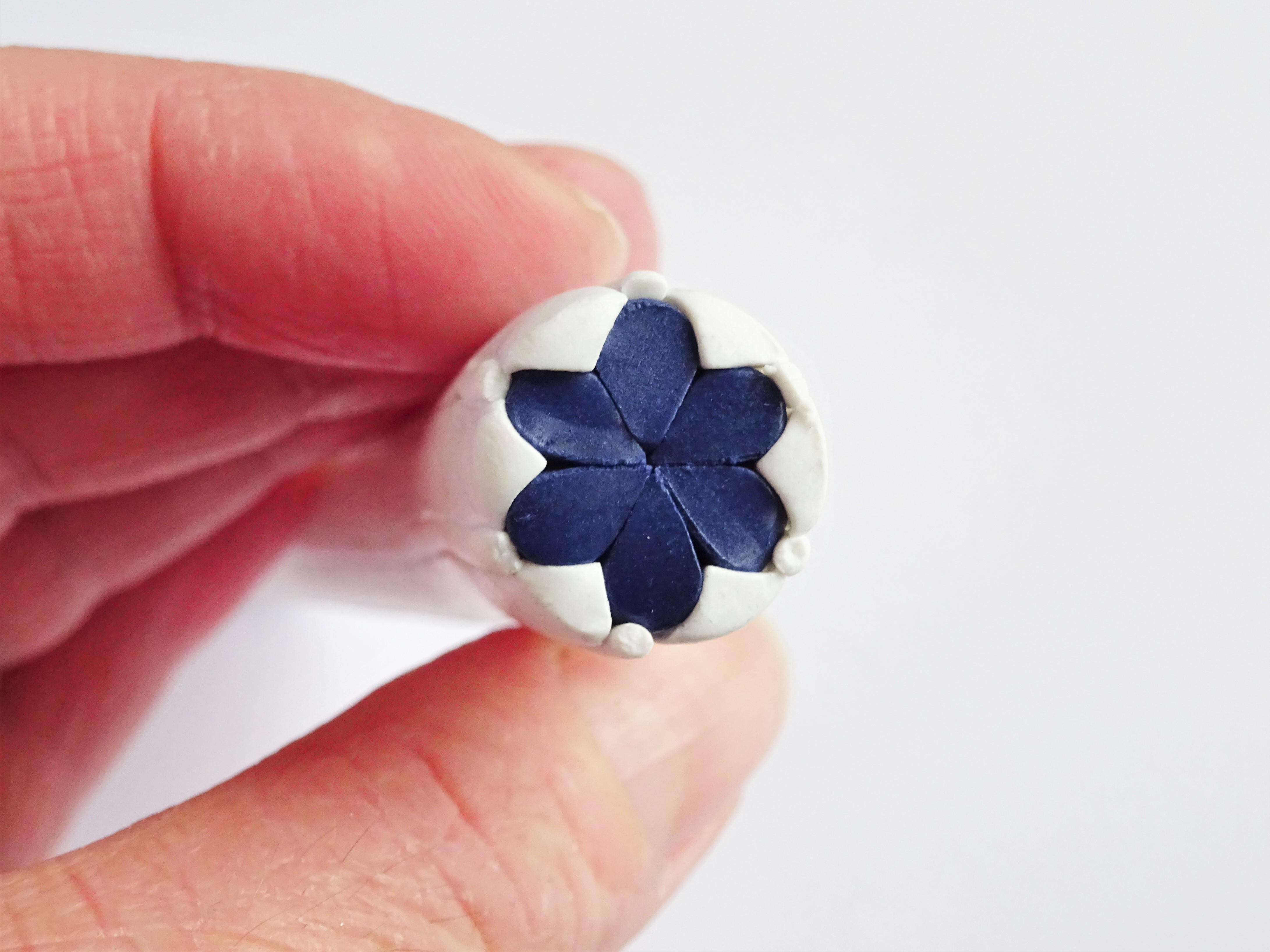 Polymer Clay Extruder Flower Cane