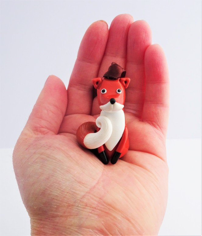 Woodland Christmas Fox decoration