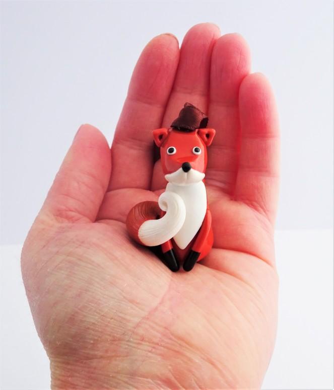 Woodland Christmas Fox decoration