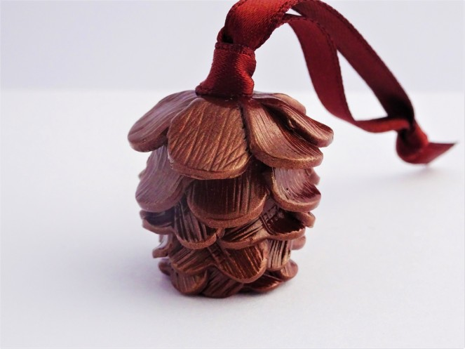 Woodland Christmas Pinecone decoration