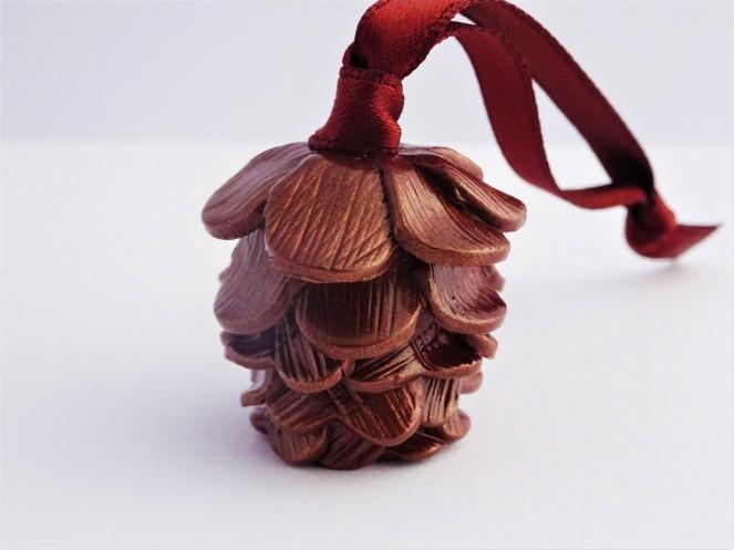 Woodland Christmas Pinecone decoration