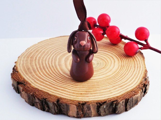 Woodland Christmas Rabbit decoration