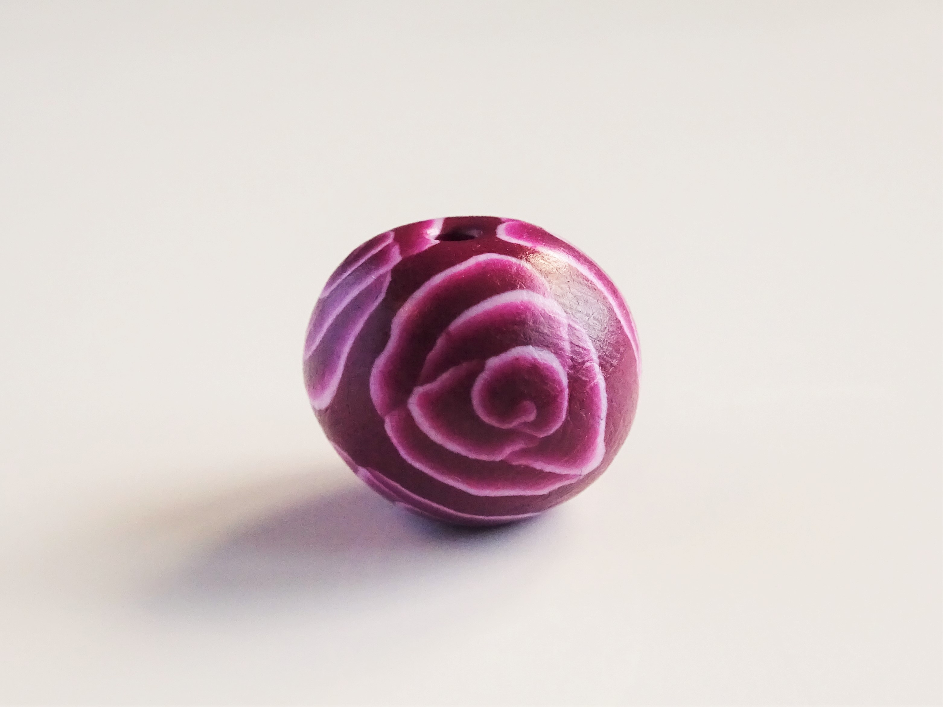 How to use a polymer clay cane to make beads