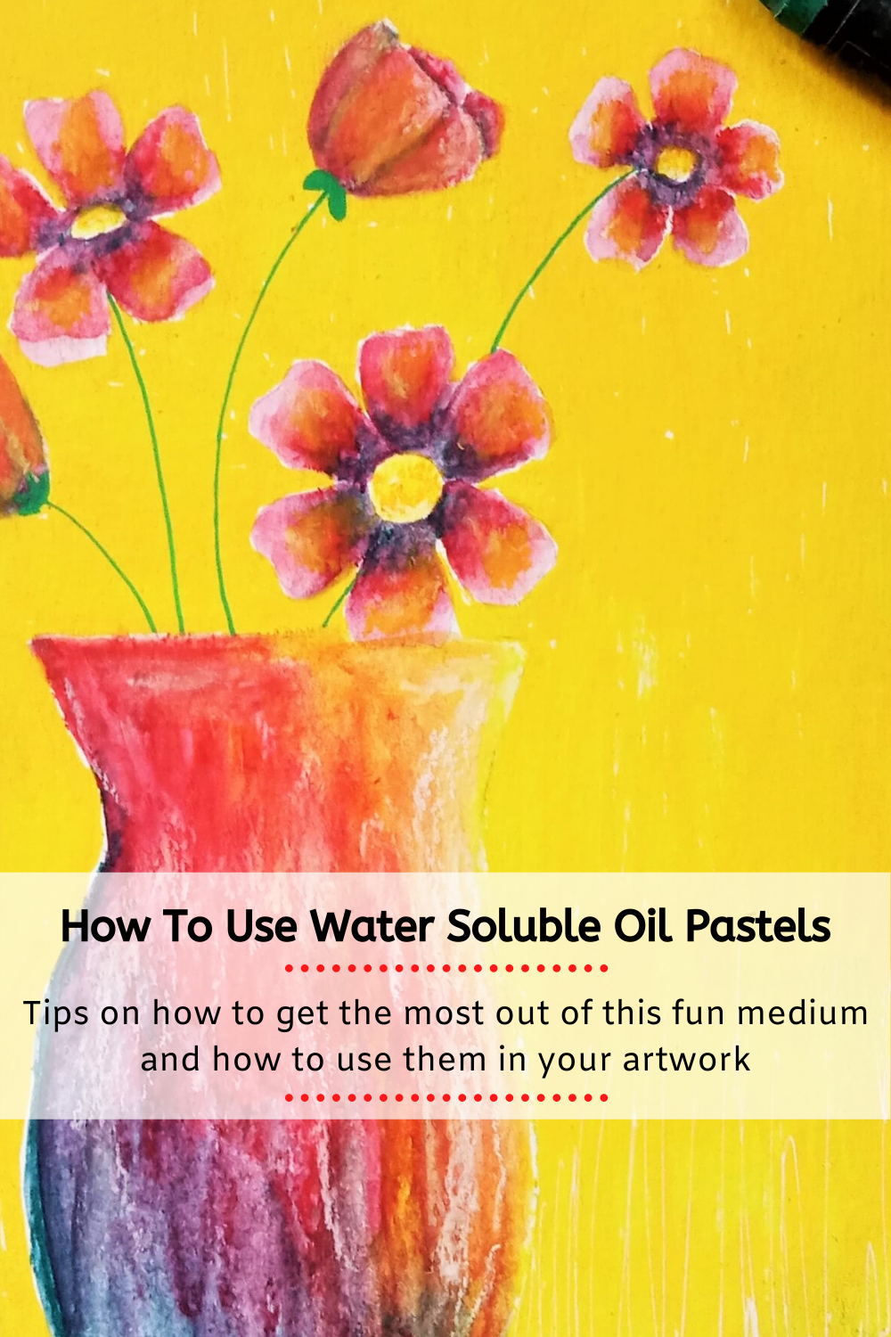 How to use water soluble oil pastels / art philosophy oil pastels