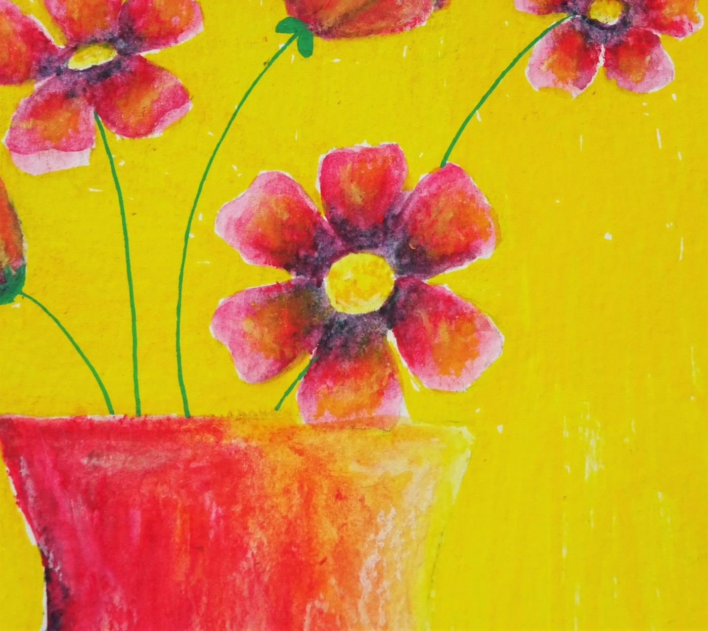 Prima art philosophy water soluble oils pastel flower illustration / how to use water soluble oil pastels