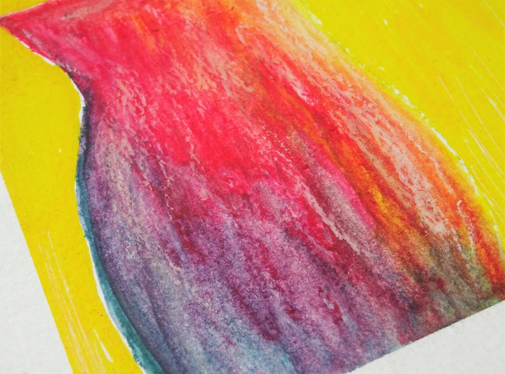 Prima art philosophy water soluble oil pastel illustration / how to use oil pastels