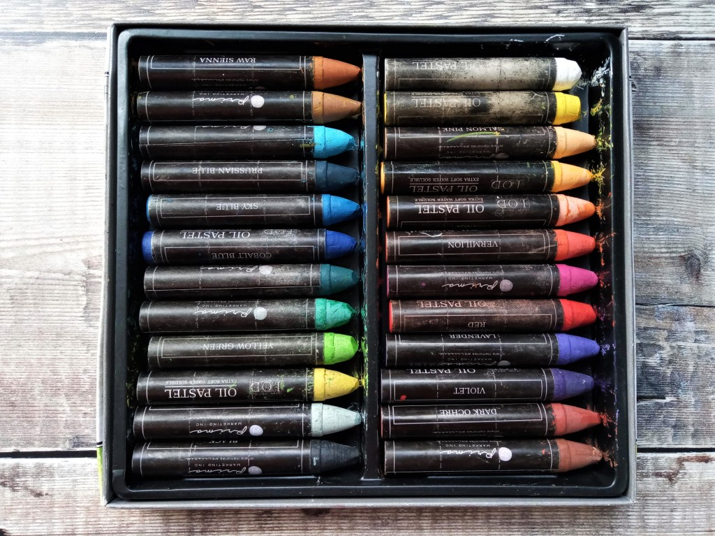 Prima water soluble oil pastels