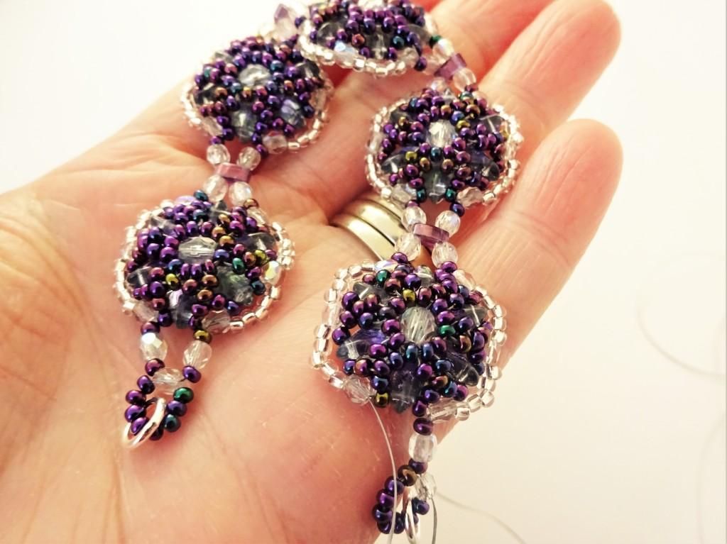 Gemduo beadweaving bracelet tutorial