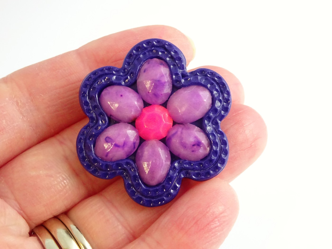 How to make polymer clay faceted stones with polymer clay tutorial