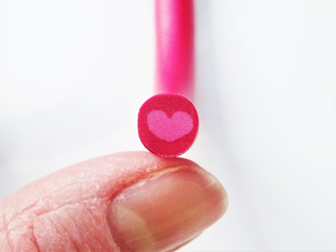 Polymer clay extruder easy heart cane tutorial