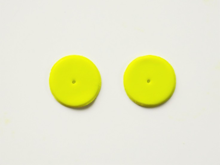 The best way to add earring posts to polymer clay studs
