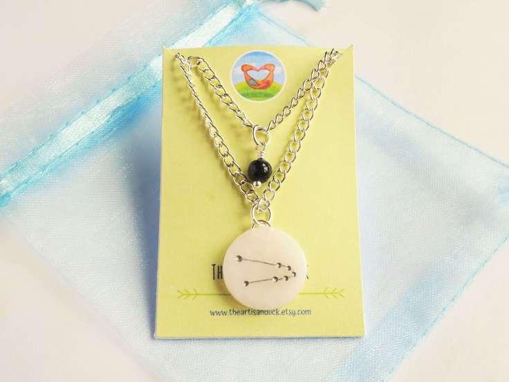 zodiac-and-semi-precious-bead-necklace-the-artisan-duck